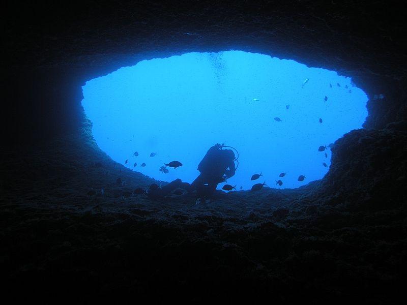 Nereo Cave, südlicher Eingang; Foto von Marco Busdraghi
