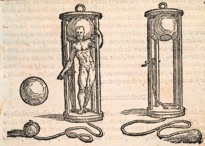 Tauchglocke aus dem 16. Jahrhundert