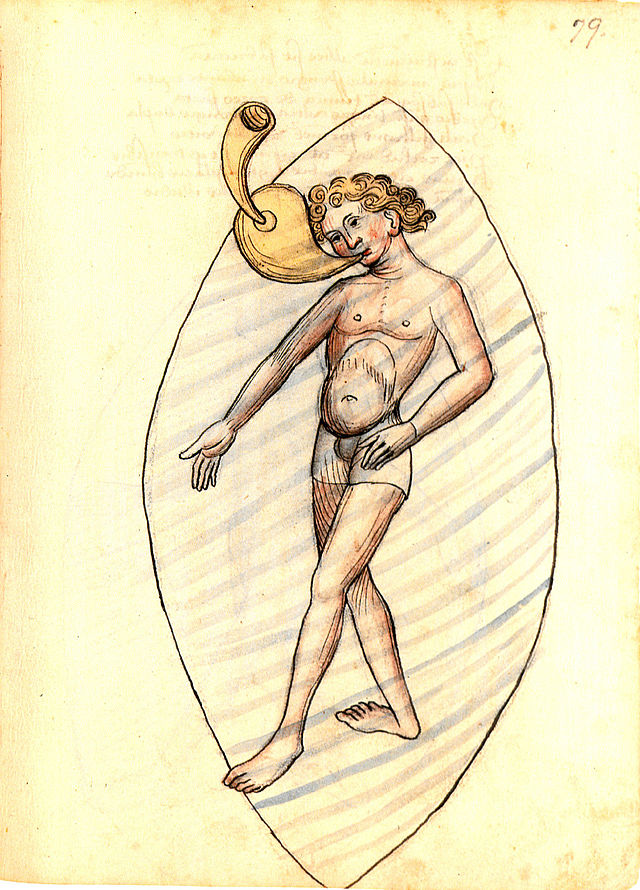"""Konrad Kyeser beschrieb in seinem Werk """"Bellifortis"""" 1405 einen Schnorchel"""